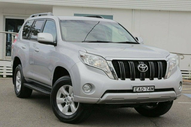 Used Toyota Landcruiser Prado GDJ150R GXL, 2016 Toyota Landcruiser Prado GDJ150R GXL Blue 6 Speed Sports Automatic Wagon