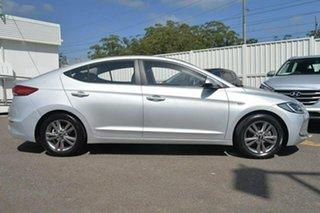 2016 Hyundai Elantra AD Active Silver 6 Speed Sports Automatic Sedan.