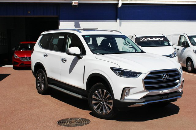 New LDV D90 SV9A Luxe, 2018 LDV D90 SV9A Luxe Blanc White 6 Speed Sports Automatic Wagon