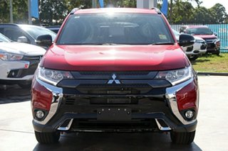 2018 Mitsubishi Outlander ZL MY19 Black Edition 7 Seat (2WD) Red Continuous Variable Wagon