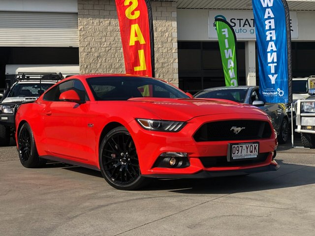 Used Ford Mustang FM GT Fastback SelectShift, 2016 Ford Mustang FM GT Fastback SelectShift Orange 6 Speed Sports Automatic Fastback
