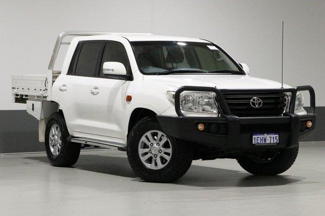 Used Toyota Landcruiser VDJ200R MY12 GXL (4x4), 2012 Toyota Landcruiser VDJ200R MY12 GXL (4x4) White 6 Speed Automatic Wagon