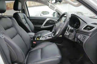 2017 Mitsubishi Pajero Sport QE MY17 GLS White 8 Speed Sports Automatic Wagon