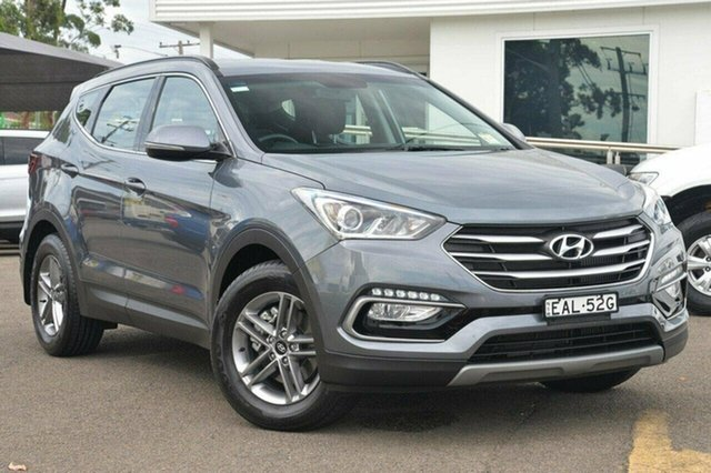 Used Hyundai Santa Fe DM4 MY18 Active, 2017 Hyundai Santa Fe DM4 MY18 Active Silver 6 Speed Sports Automatic Wagon
