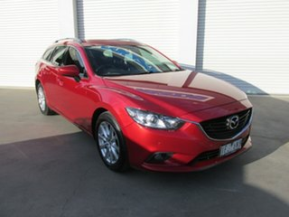 2015 Mazda 6 GJ1032 Sport SKYACTIV-Drive Red 6 Speed Sports Automatic Wagon.