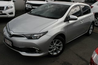 2018 Toyota Corolla ZRE182R Ascent Sport Silver 6 Speed Manual Hatchback.