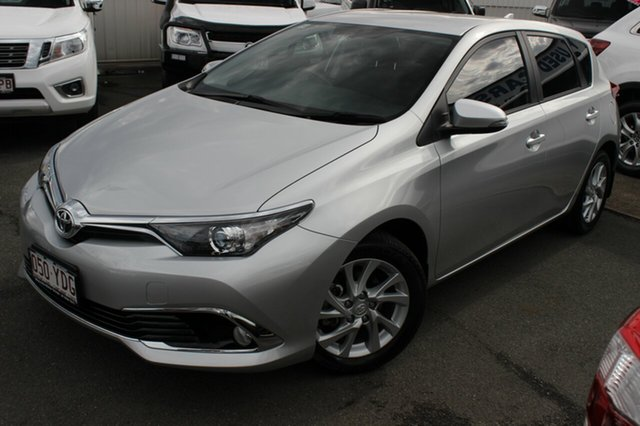 Used Toyota Corolla ZRE182R Ascent Sport, 2018 Toyota Corolla ZRE182R Ascent Sport Silver 6 Speed Manual Hatchback