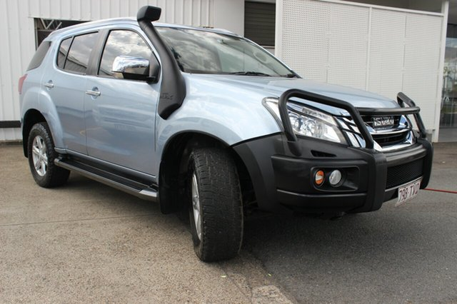 Used Isuzu MU-X MY14 LS-T Rev-Tronic, 2014 Isuzu MU-X MY14 LS-T Rev-Tronic Blue 5 Speed Sports Automatic Wagon