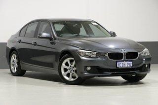 2013 BMW 320i F30 Mineral Grey 8 Speed Automatic Sedan.