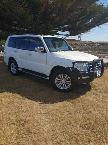 Used Mitsubishi Pajero NX MY15 GLX, 2014 Mitsubishi Pajero NX MY15 GLX White 5 Speed Sports Automatic Wagon