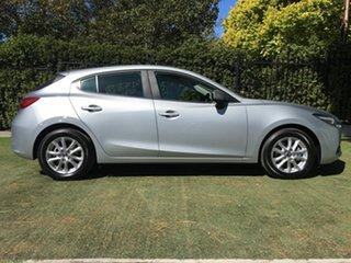 2018 Mazda 3 BN5478 Maxx SKYACTIV-Drive Sport Silver 6 Speed Sports Automatic Hatchback.