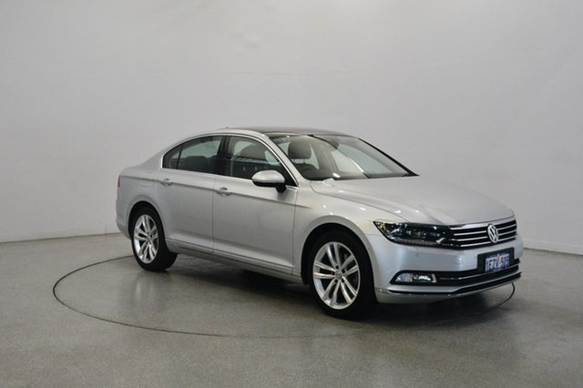 Used Volkswagen Passat 3C (B8) MY16 140TDI DSG Highline, 2016 Volkswagen Passat 3C (B8) MY16 140TDI DSG Highline Silver 6 Speed Sports Automatic Dual Clutch