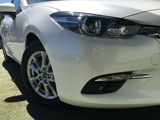 2018 Mazda 3 BN5278 Maxx SKYACTIV-Drive Sport White 6 Speed Sports Automatic Sedan