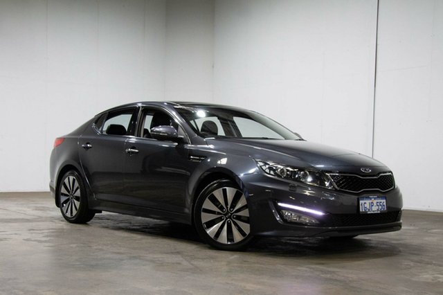 Used Kia Optima TF MY11 Platinum, 2011 Kia Optima TF MY11 Platinum Grey 6 Speed Sports Automatic Sedan