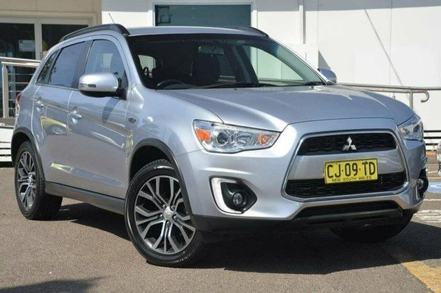 Used Mitsubishi ASX XB LS, 2016 Mitsubishi ASX XB LS Silver 6 Speed Constant Variable Wagon