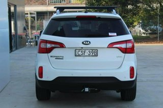2014 Kia Sorento XM MY14 Platinum 4WD White 6 Speed Sports Automatic Wagon
