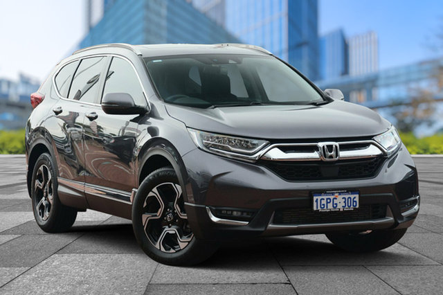Used Honda CR-V RW MY18 VTi-LX 4WD, 2018 Honda CR-V RW MY18 VTi-LX 4WD Modern Steel 1 Speed Constant Variable Wagon
