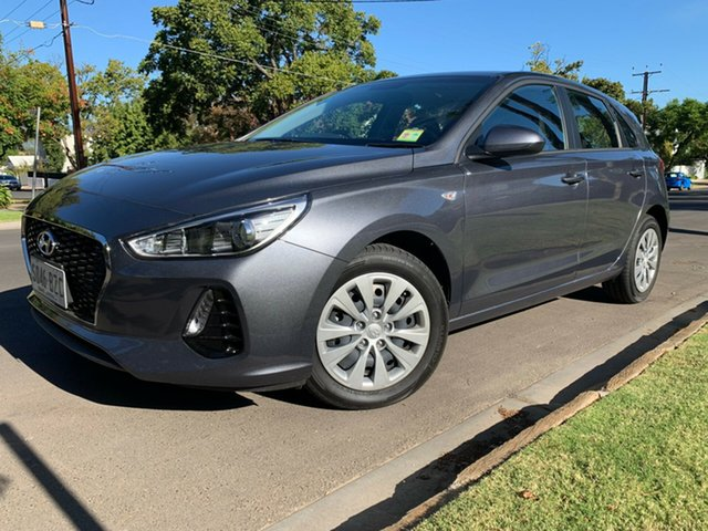 Demo Hyundai i30 PD MY18 Go, 2018 Hyundai i30 PD MY18 Go Iron Gray 6 Speed Manual Hatchback