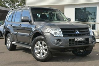 2014 Mitsubishi Pajero NW GLX-R Grey 5 Speed Sports Automatic Wagon.