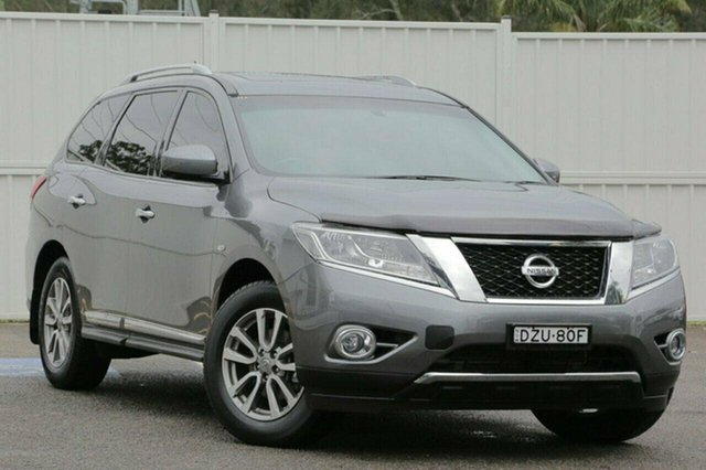 Used Nissan Pathfinder R52 ST-L, 2016 Nissan Pathfinder R52 ST-L Grey 1 Speed Constant Variable Wagon