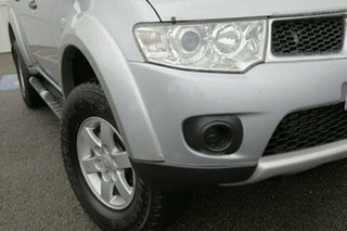 2012 Mitsubishi Challenger PB (KH) MY12 LS Silver 5 Speed Sports Automatic Wagon.