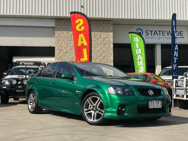 Used Holden Commodore VE II SV6, 2011 Holden Commodore VE II SV6 Green 6 Speed Sports Automatic Sedan