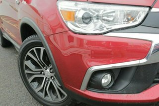 2016 Mitsubishi ASX XC MY17 LS 2WD Red 6 Speed Constant Variable Wagon.
