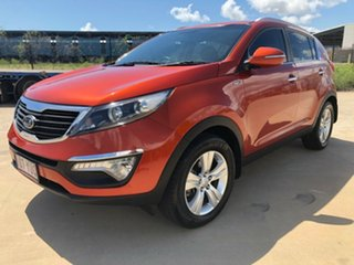 2011 Kia Sportage SL SLi Orange 6 Speed Sports Automatic Wagon
