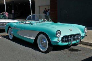 1956 Chevrolet Corvette Turquoise 3 Speed Manual Convertible.