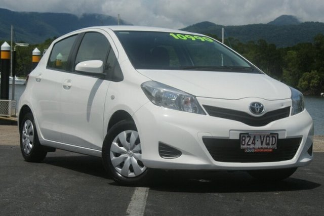 Used Toyota Yaris NCP130R YR, 2014 Toyota Yaris NCP130R YR White 5 Speed Manual Hatchback