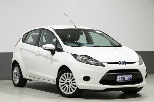 Used Ford Fiesta WT LX, 2010 Ford Fiesta WT LX White 5 Speed Manual Hatchback