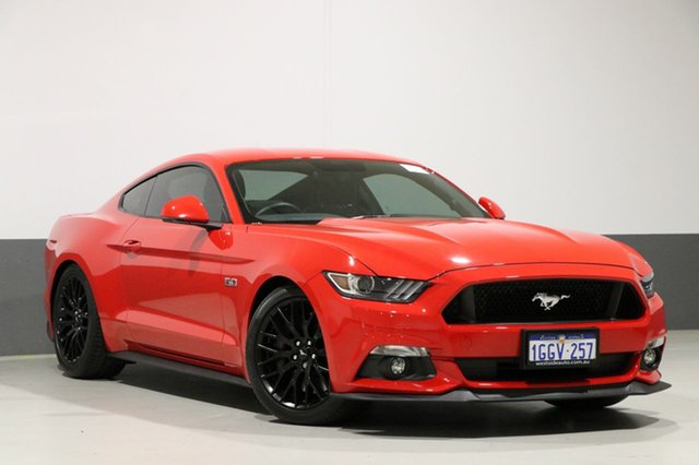 Used Ford Mustang FM MY17 Fastback GT 5.0 V8, 2017 Ford Mustang FM MY17 Fastback GT 5.0 V8 Red 6 Speed Manual Coupe