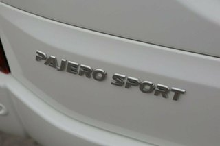 2017 Mitsubishi Pajero Sport QE GLS White 8 Speed Sports Automatic Wagon