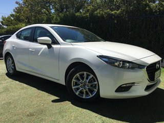 2018 Mazda 3 BN5278 Maxx SKYACTIV-Drive Sport White 6 Speed Sports Automatic Sedan.