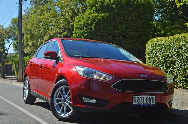 Used Ford Focus LZ Trend, 2018 Ford Focus LZ Trend Red Candy 6 Speed Automatic Hatchback