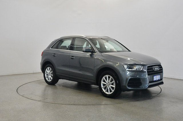 Used Audi Q3 8U MY16 TFSI S Tronic, 2015 Audi Q3 8U MY16 TFSI S Tronic Grey 6 Speed Sports Automatic Dual Clutch Wagon