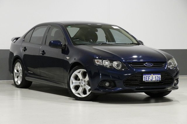 Used Ford Falcon FG Upgrade XR6, 2012 Ford Falcon FG Upgrade XR6 Blue 6 Speed Manual Sedan