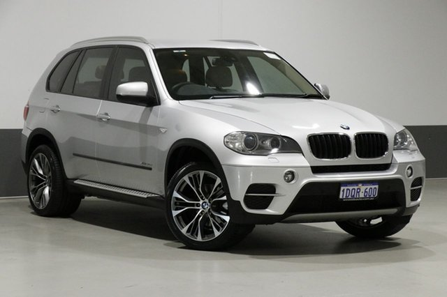 Used BMW X5 E70 MY10 xDrive 30D, 2011 BMW X5 E70 MY10 xDrive 30D Silver 8 Speed Automatic Sequential Wagon