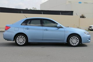 2011 Subaru Impreza G3 MY11 R AWD Blue 4 Speed Sports Automatic Sedan.