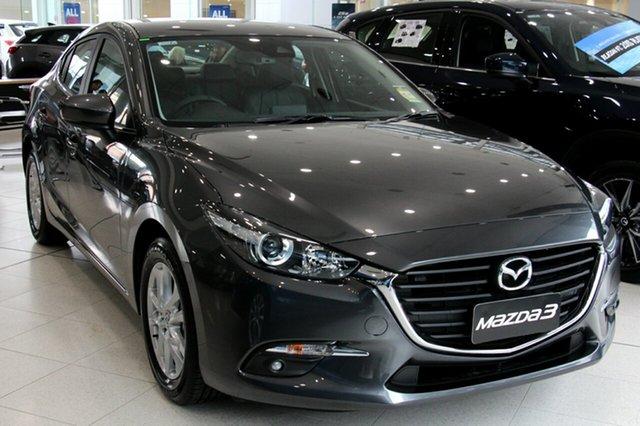 New Mazda 3 BN5278 Touring SKYACTIV-Drive, 2018 Mazda 3 BN5278 Touring SKYACTIV-Drive Machine Grey 6 Speed Sports Automatic Sedan