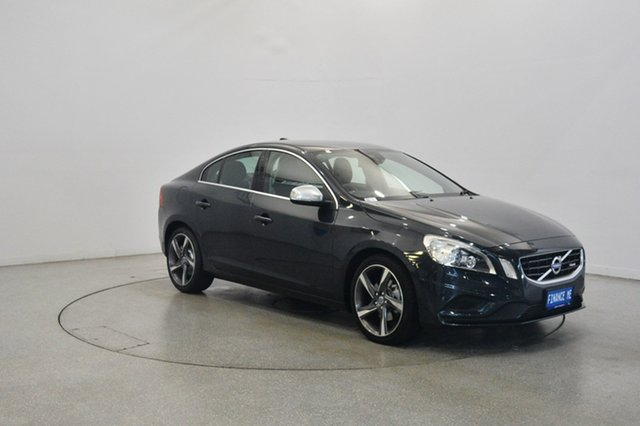 Used Volvo S60 F Series T5 PwrShift R-Design, 2011 Volvo S60 F Series T5 PwrShift R-Design Grey 6 Speed Sports Automatic Dual Clutch Sedan