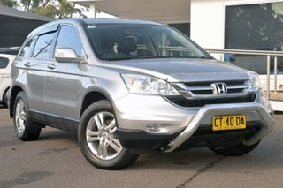 2012 Honda CR-V RE MY2011 Luxury 4WD Silver 5 Speed Automatic Wagon.