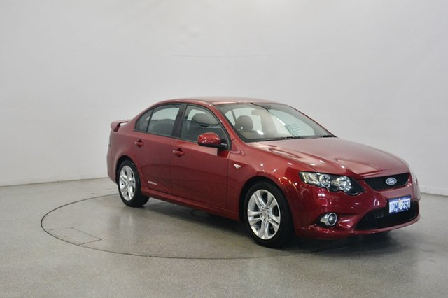 Used Ford Falcon FG XR6, 2010 Ford Falcon FG XR6 Seduce 6 Speed Sports Automatic Sedan