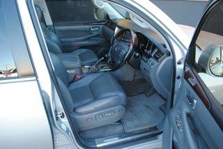 2008 Lexus LX570 URJ201R Sports Luxury Premium Silver 6 Speed Sports Automatic Wagon
