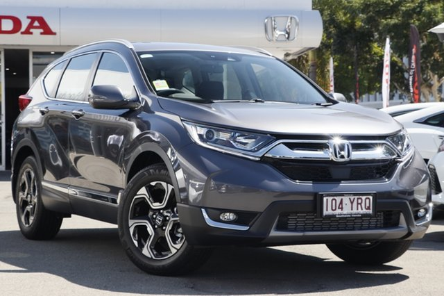 Demo Honda CR-V RW MY19 VTi-S 4WD, 2019 Honda CR-V RW MY19 VTi-S 4WD Modern Steel 1 Speed Constant Variable Wagon