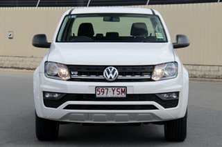 2018 Volkswagen Amarok 2H MY19 TDI550 4MOTION Perm Core Candy White 8 Speed Automatic Utility