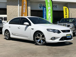 2010 Ford Falcon FG XR6 50th Anniversary White 6 Speed Sports Automatic Sedan