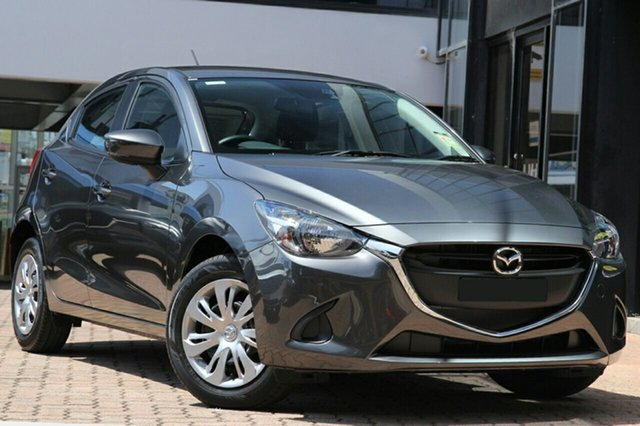 New Mazda 2 DJ2HAA Neo SKYACTIV-Drive, 2019 Mazda 2 DJ2HAA Neo SKYACTIV-Drive Machine Grey 6 Speed Sports Automatic Hatchback