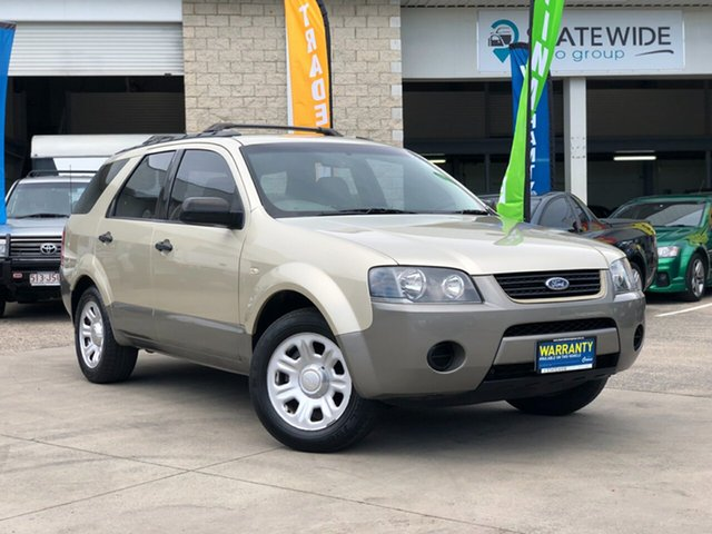 Used Ford Territory SY TX, 2008 Ford Territory SY TX Gold 4 Speed Sports Automatic Wagon