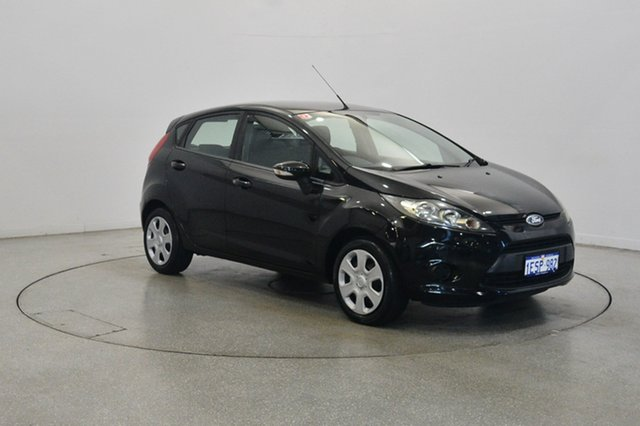 Used Ford Fiesta WT CL, 2012 Ford Fiesta WT CL Black 5 Speed Manual Hatchback